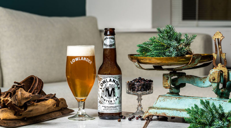 """Winter beer"" made from Christmas trees in the Netherlands"