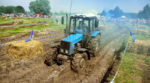 Tractor races for farmers in the Cherkasy region