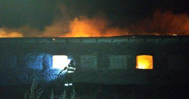 Через пожежу на фермі загинула жінка