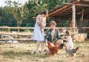 40 кіз, двоє дітей та ліс: на Львівщині молоде подружжя займається фермерством та розвиває екотуризм (відео)