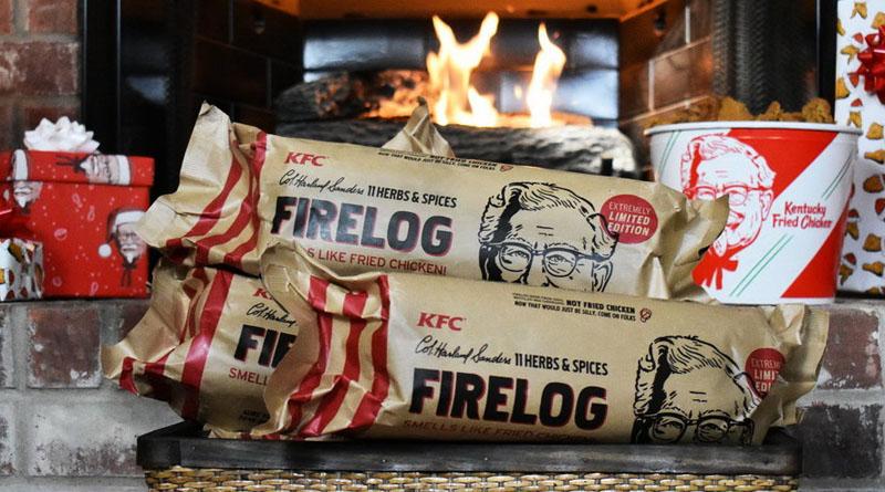 У KFC почали продавати дрова з запахом смаженої курки