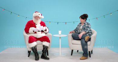 Фермери розповіли про свою роботу Санта Клаусу (відео)
