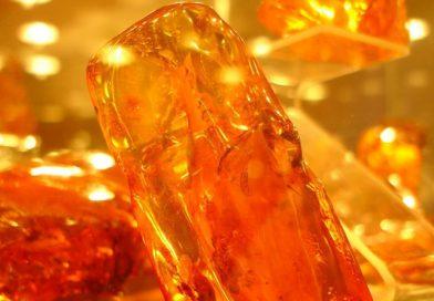 На Ровенщине нашли камень янтаря весом более 1 кг на 10 тыс долларов