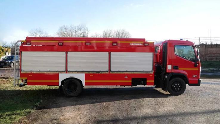 Пожежний Huyndai EX8